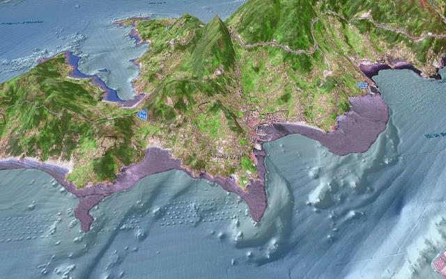 cartografía maritima