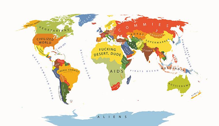 mapa de prejuicios