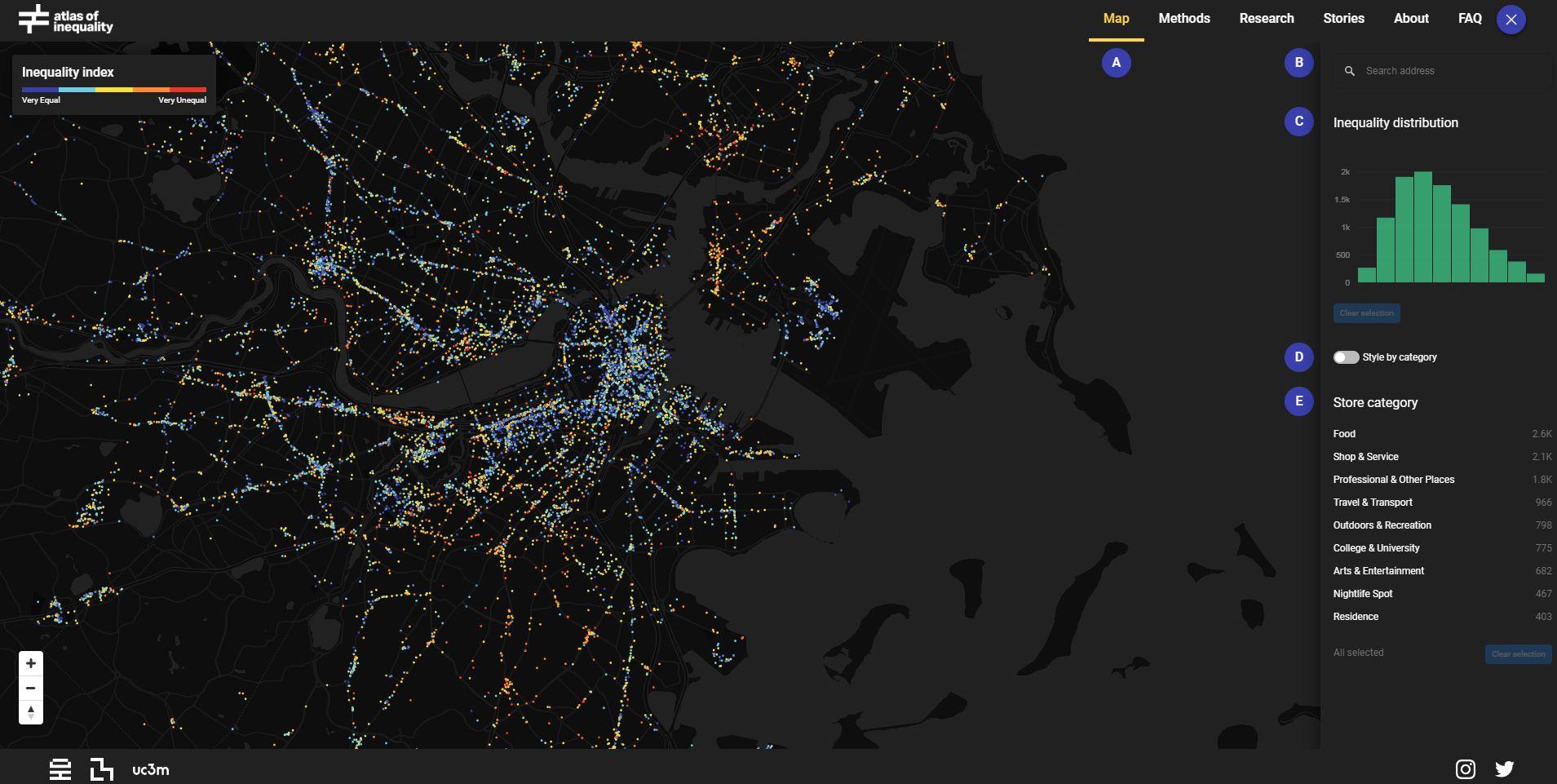atlas desigualdad