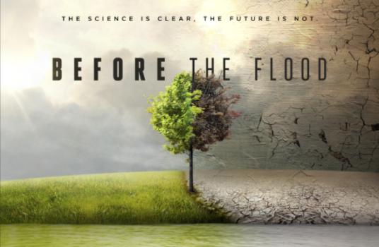 Documental Before the flood