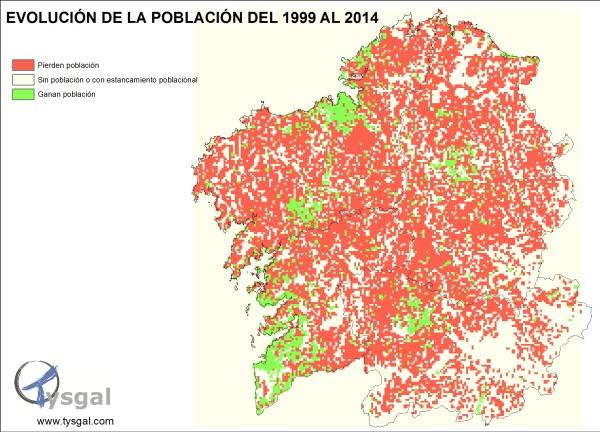 Galicia se vacía